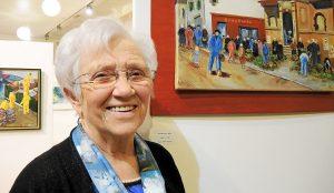 Marie-Hélène Cloarec a participé du démarrage de l'atelier peinture, en 1996: alors qu'elle prenait justement sa retraite, elle a eu le plaisir de renouer avec la peinture à l'huile, une technique apprise, dans son enfance, chez les Filles du Saint-Esprit, aux Saints-Anges de la rue Monte-au-ciel.